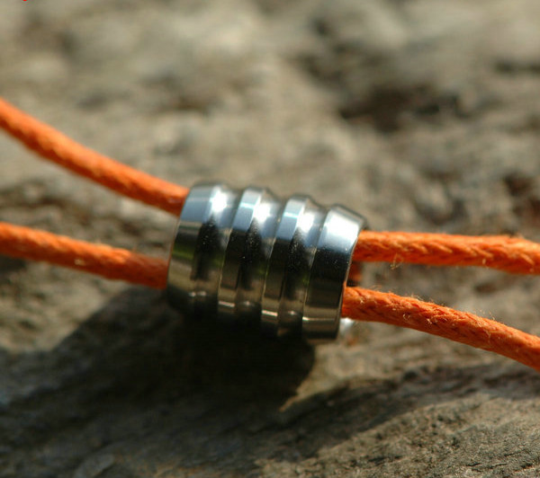 Lanyard Beads TITANER ( Ribbed)